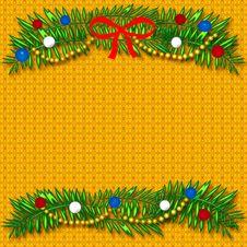 Free Christmas Scrapbook Frame Royalty Free Stock Photos - 6761388