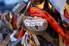 Free The Love Lock Stock Images - 6762434