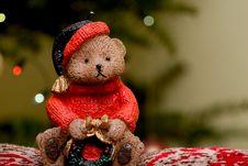 Free Christmas Bear Stock Photo - 6762470