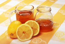 Free Tea And Honey Royalty Free Stock Images - 6763329