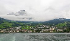 Free The Small Village On The Hills Around Lake Luzern Royalty Free Stock Images - 6764199