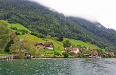 Free The Small Village On The Hills Around Lake Luzern Stock Photo - 6764220