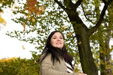 Free Autumn Woman Royalty Free Stock Images - 6764389