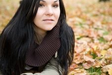 Free Autumn Woman Stock Images - 6764424