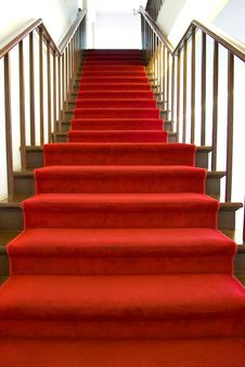 Free Red Carpet Stairs Royalty Free Stock Images - 6764429