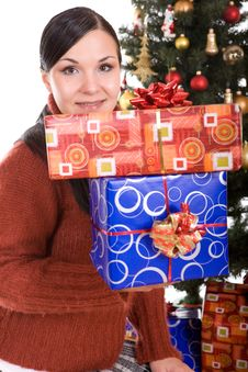Happy Christmas Stock Photos