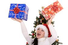 Free Happy Christmas Stock Photos - 6764853