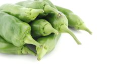 Free Green Peppers Pile Stock Photo - 6765060