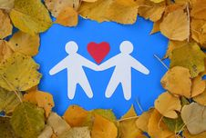 Free Autumn Love. Royalty Free Stock Photography - 6765247