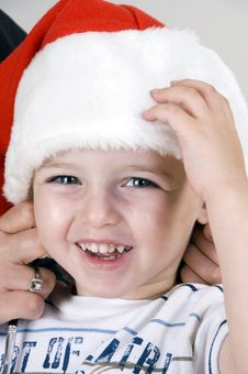 Free Portrait Of Cute Little Boy Stock Photography - 6765362