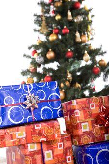 Free Christmas Tree Royalty Free Stock Photos - 6765628