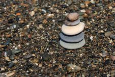 Free Five Pebbles Royalty Free Stock Image - 6766486