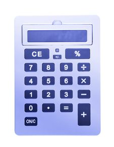 Free Business Calculator Stock Photography - 6766812