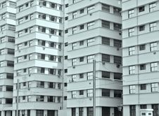 Block Of Flats Structure Stock Photo