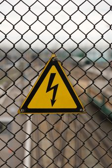 Free Lightning Sign Stock Images - 6766924