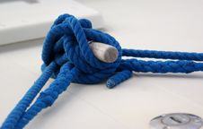 Free Blue Rope Royalty Free Stock Photo - 6767035