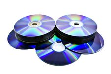Free Disks Royalty Free Stock Photo - 6767105