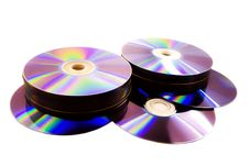 Free Disks Royalty Free Stock Image - 6767106