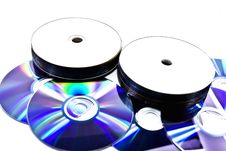Free Disks Royalty Free Stock Photography - 6767107