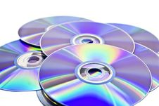 Free Disks Royalty Free Stock Image - 6767116