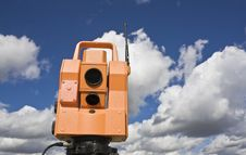 Free Total Station Stock Image - 6767181