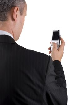 Free Businessman Making Call Royalty Free Stock Images - 6767419