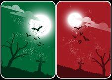Free Halloween Card Royalty Free Stock Photos - 6767628