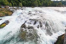 Free The Rhine Falls In Switzerland Stock Photos - 6767633