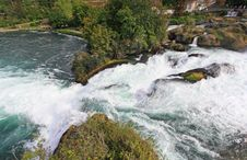 Free The Rhine Falls In Switzerland Stock Photo - 6767650