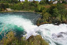Free The Rhine Falls In Switzerland Stock Photos - 6767653