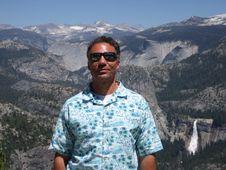 Free Tourist In Yosemite Stock Image - 6768941