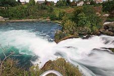 Free The Rhine Falls In Switzerland Royalty Free Stock Photos - 6769038