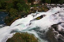 Free The Rhine Falls In Switzerland Stock Photo - 6769050