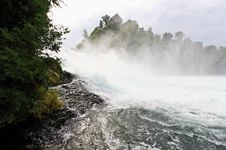 Free The Rhine Falls In Switzerland Stock Photo - 6769060