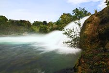 Free The Rhine Falls In Switzerland Stock Photos - 6769063