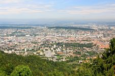 Free The Aerial View Of Zurich City Stock Photo - 6769080