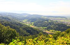 Free The Aerial View Of Zurich Countryside Stock Photos - 6769113