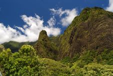 Free Iao Needle Royalty Free Stock Image - 6769136