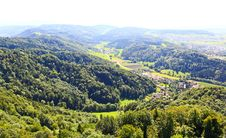 Free The Aerial View Of Zurich Countryside Royalty Free Stock Photo - 6769165