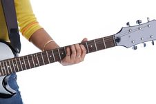 Free Playing Guitar Stock Photos - 6769243