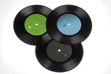 Free 45rpm Vinyl Record Stock Image - 6769391