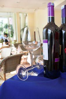 Wines Market Royalty Free Stock Photo