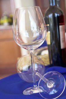 Wines Market Royalty Free Stock Image