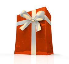 Free Red Fancy Box Royalty Free Stock Photos - 6769928