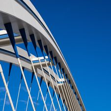 Free Apollo Bridge In Bratislava Royalty Free Stock Images - 67659169