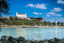 Free Bratislava Castle Royalty Free Stock Image - 67659356
