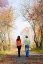 Free Young Couple Walking In The Park Royalty Free Stock Photo - 6770305