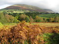 Free Blencathra Hiding In The Cloud Stock Photography - 6773282