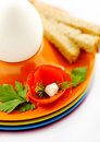 Free Egg For Breacfast Closeup Decoration Stock Photography - 6776432