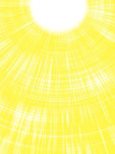 Sunbeams. Royalty Free Stock Image